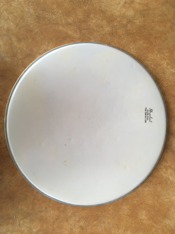 "Vintage Slingerland 16"" Smooth White Sound King Drum Head"