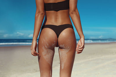 SALVADOR BOTTOM MIDNIGHT MATTE BLACK SEAMLESS FRANKIE SWIMWEAR FRANKIESWIMWEAR FRANKII SWIM FANKIISWIM BIKINI SWIMWEAR