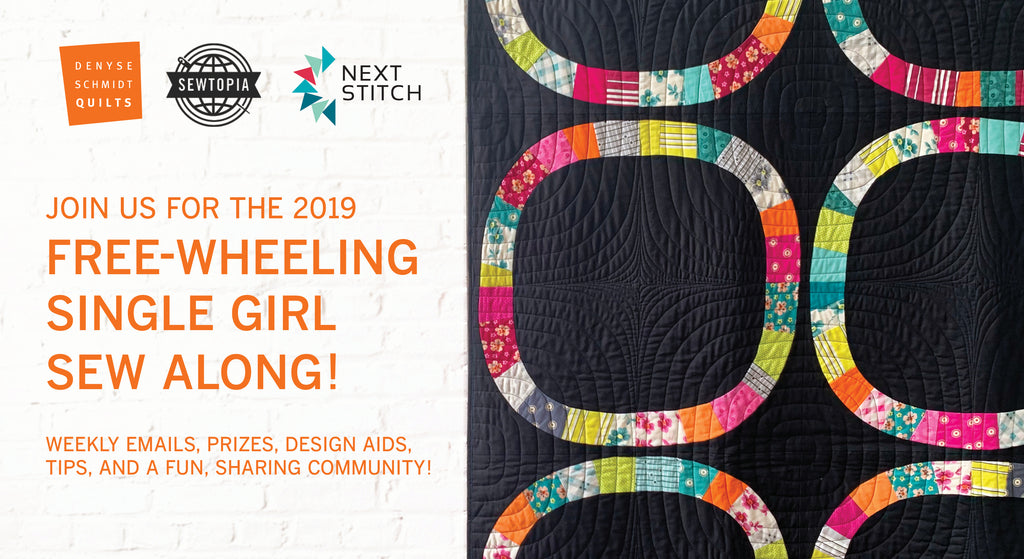 The Free-Wheeling Single Girl Sew-Along is on again!