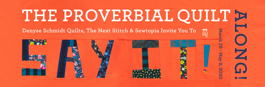All about the Proverbial Quilt-along prizes
