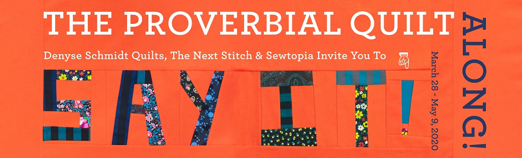 Announcing the Proverbial Quilt-along