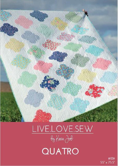 Live.Love.Sew  quilt pattern review