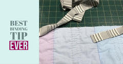 Binding tutorial - the easiest way to join those ends