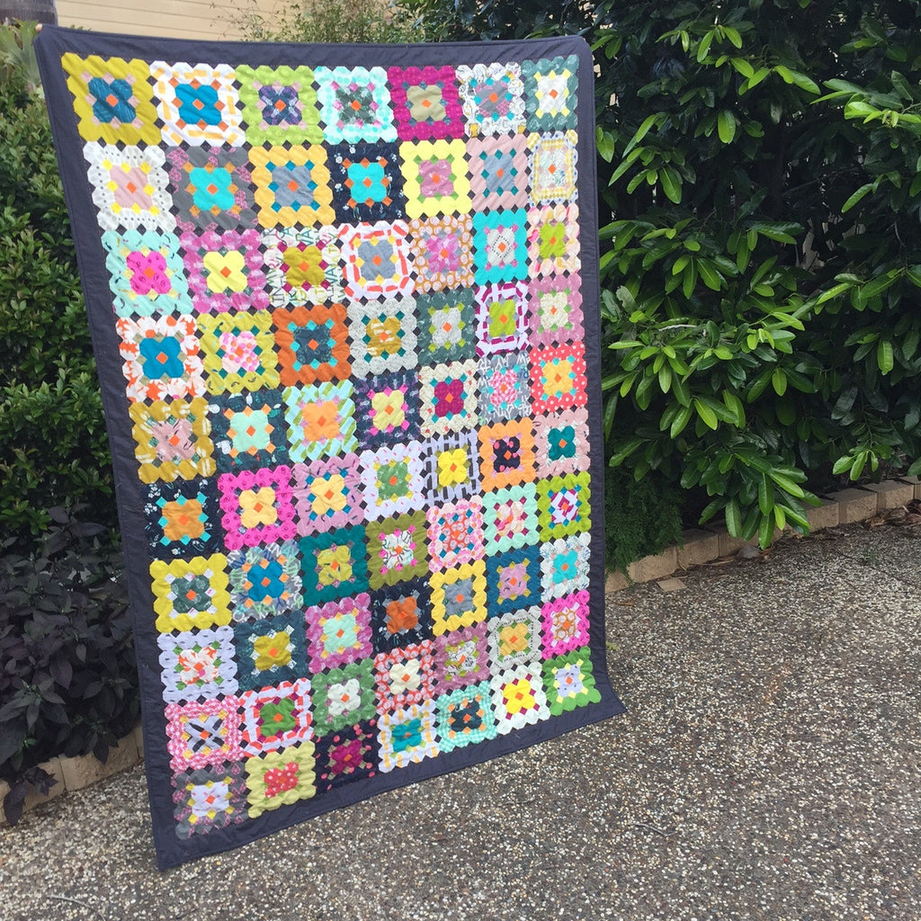 Making the Stepping Stones Quilt