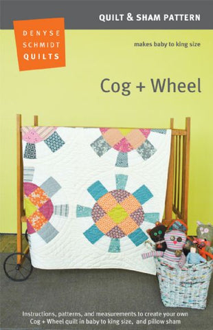 pattern for  Denyse Schmidt Cog and Wheel sewalong