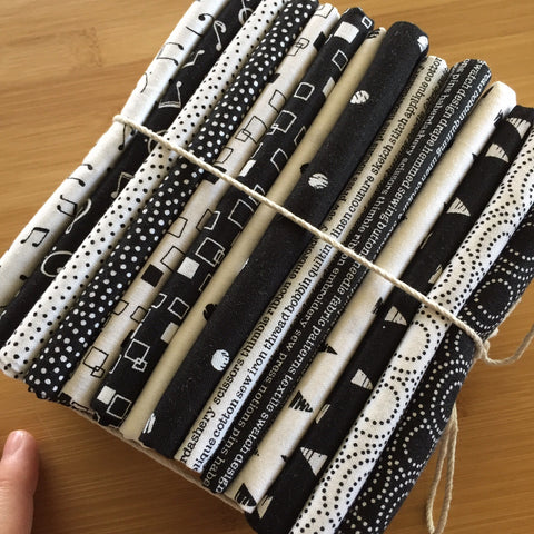 monochrome fabric prize
