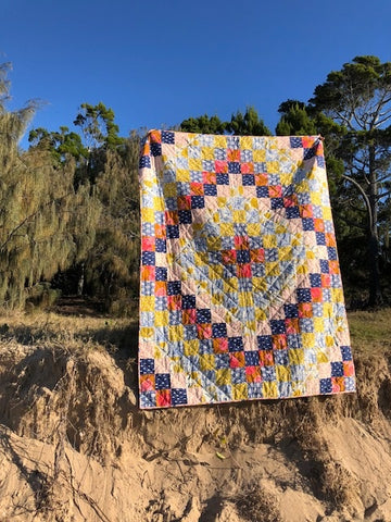 Quick Trip Quilt Free Pattern For A Limited Time The Next Stitch