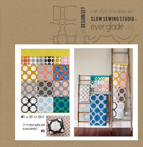 Carolyn Friedlander  - Everglade quilt pattern