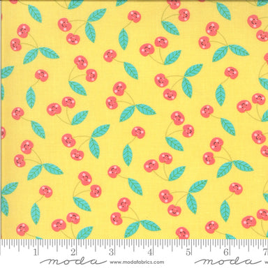 Abi Hall - Hello Sunshine - Cherries in sunshine - The Next Stitch