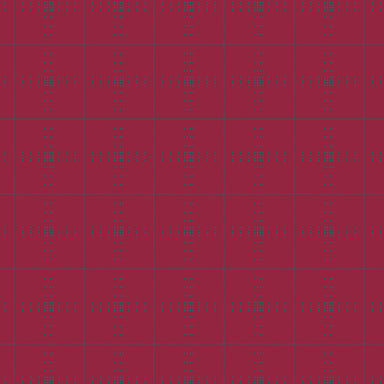 Giucy Giuce - Entwine - Plaid in ruby - The Next Stitch
