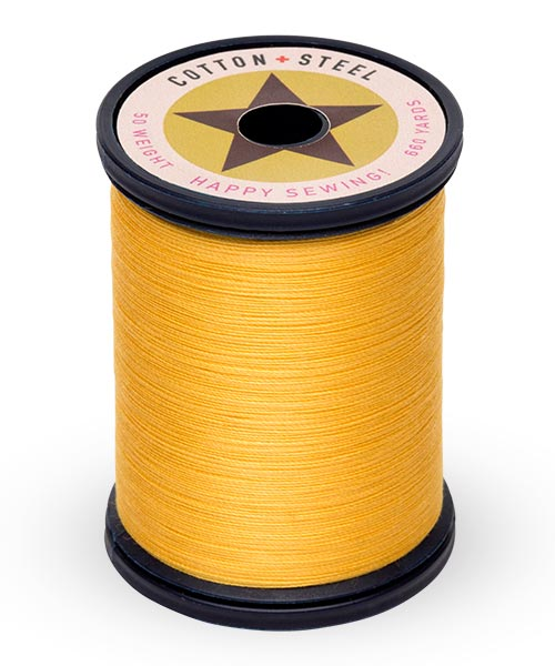 Cotton and Steel Thread by Sulky - Butterfly Gold