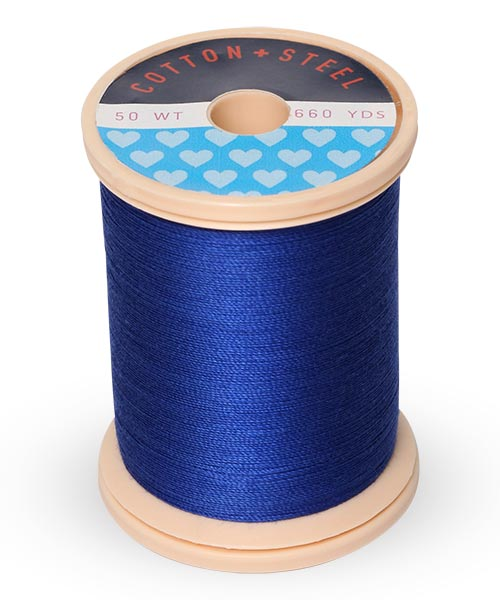 Cotton and Steel Thread by Sulky - Blue Ribbon