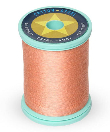 Cotton and Steel Thread by Sulky - Peach