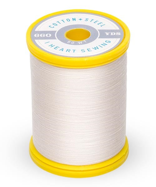 Cotton and Steel Thread by Sulky - Off White