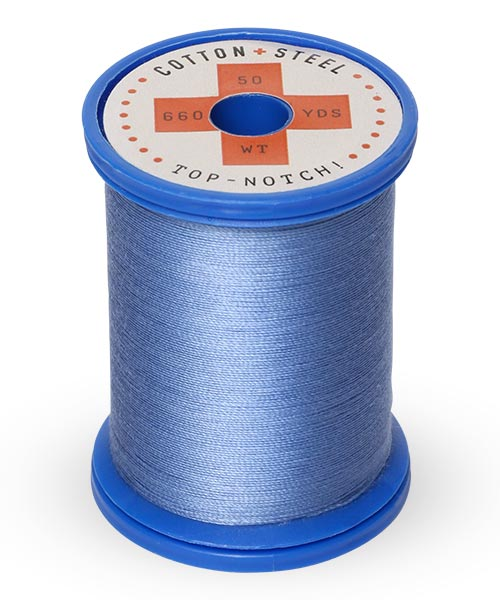 Cotton and Steel Thread by Sulky -  Dusty Navy