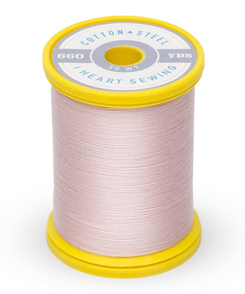 Cotton and Steel Thread by Sulky - Pastel Pink