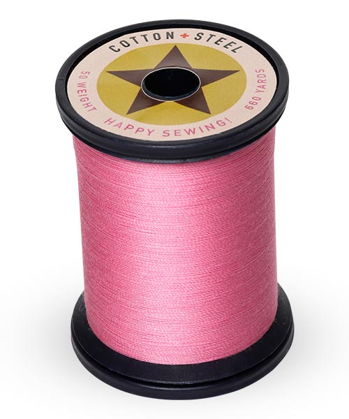 Cotton and Steel Thread by Sulky - Sweet Pink