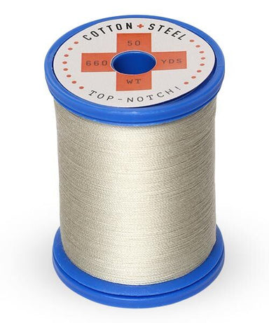 Cotton and Steel Thread by Sulky - Grey Khaki 1321