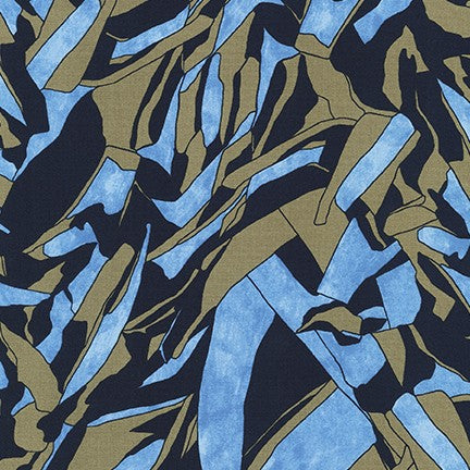 Carolyn Friedlander - Jetty - Tree Shadow in navy - The Next Stitch