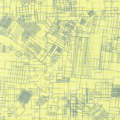 Collection CF - Carolyn Friedlander - Blueprint in yellow - The Next Stitch