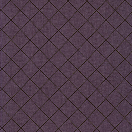 Instead - Carolyn Friedlander - Crosshatch in grape - The Next Stitch