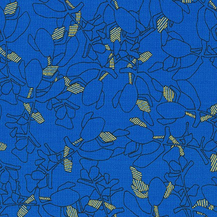 Collection CF - Carolyn Friedlander - Succulent in royal blue - The Next Stitch