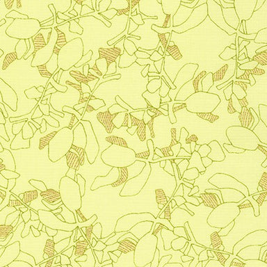 Collection CF - Carolyn Friedlander - Succulent in bright yellow - The Next Stitch
