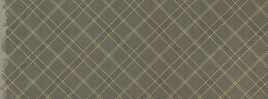 Collection CF - Carolyn Friedlander - Grid Diamond in pewter - The Next Stitch