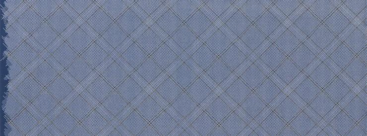 Collection CF - Carolyn Friedlander - Grid Diamond in navy - The Next Stitch