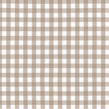 Kitchen Window Wovens - 1/2 inch gingham in doeskin