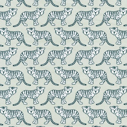 Elizabeth Hartman - Library - Baby Tiger in silver - The Next Stitch