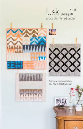 Carolyn Friedlander - Lusk mini quilt pattern