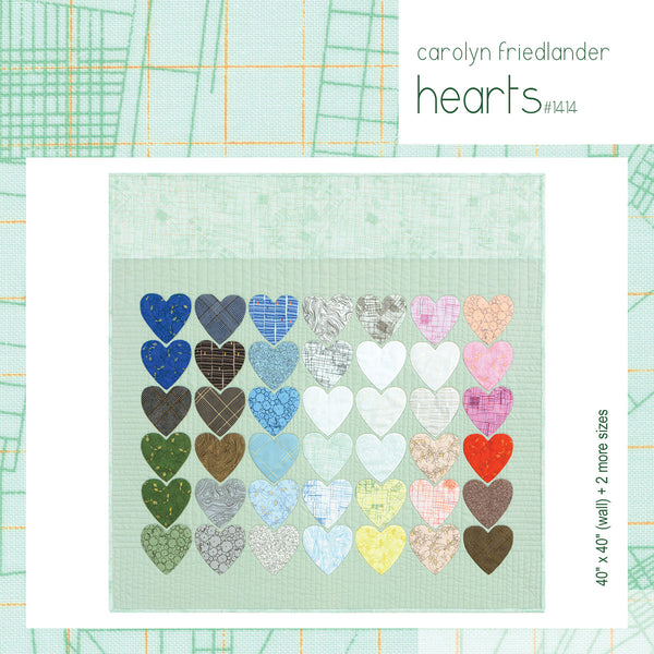 Carolyn Friedlander  - Collection CF Hearts quilt kit