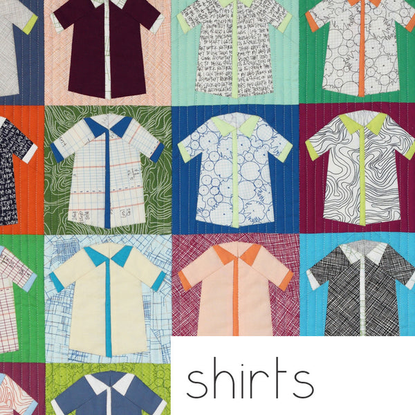 Carolyn Friedlander Shirts quilt  pattern