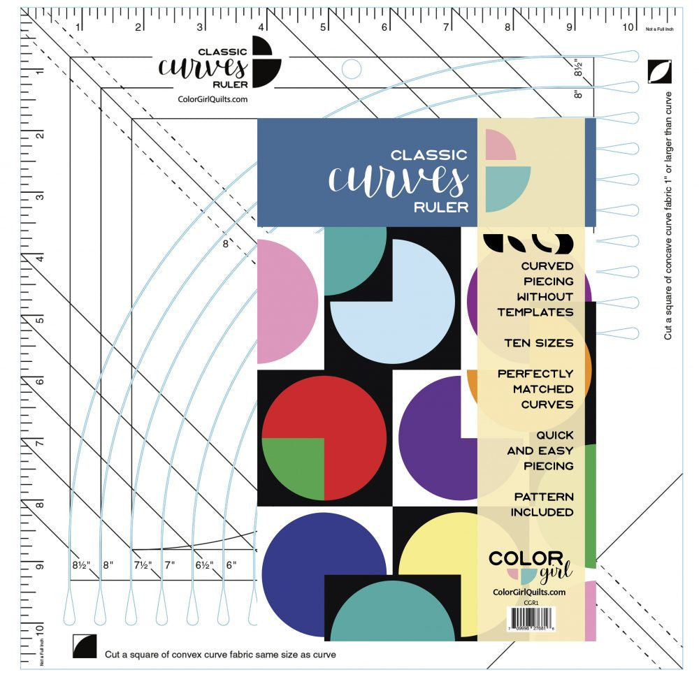 Classic Curves Ruler from Color Girl Quilts