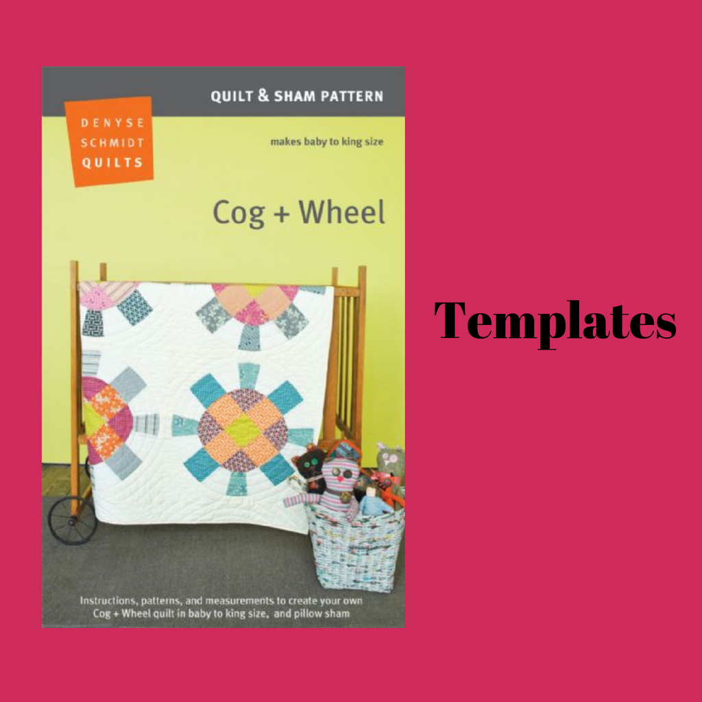 Cog + Wheel - Template set
