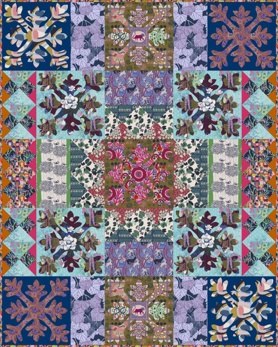 Wild - Conservatory Chapter 3 -  Wild Quilt digital pattern