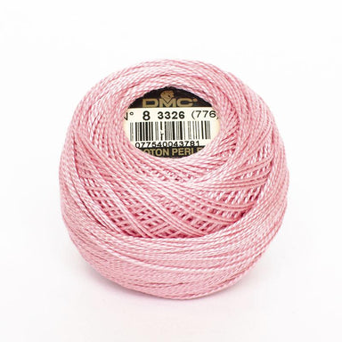 DMC Perle 8 thread - 3326 - Light Rose