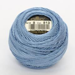 DMC Perle 8 thread - 813 - Light Blue