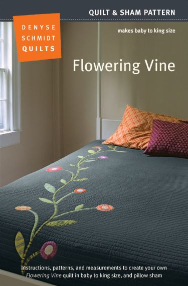 Flowering Vine- quilt pattern by Denyse Schmidt