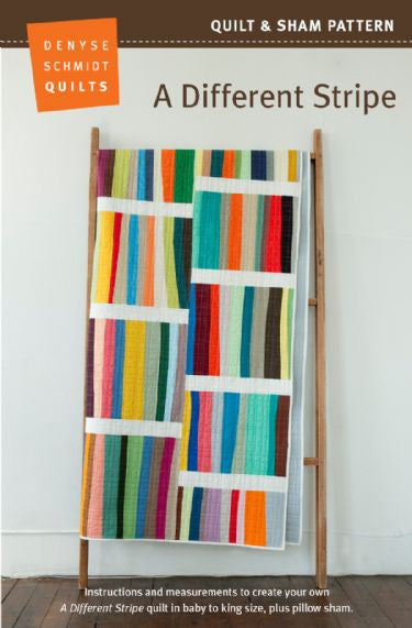A Different Stripe - quilt pattern by Denyse Schmidt