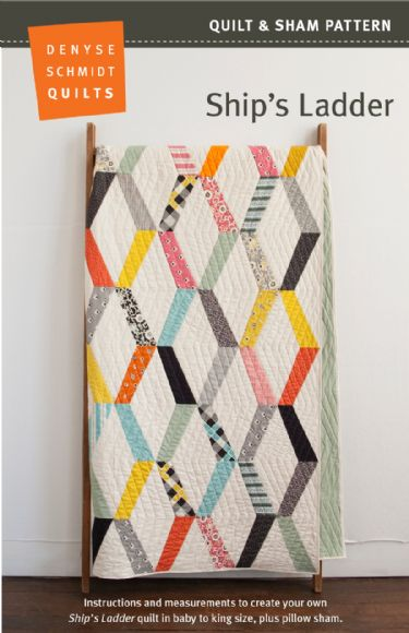 Ships Ladder - quilt pattern by Denyse Schmidt