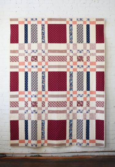 Woven - quilt pattern by Denyse Schmidt
