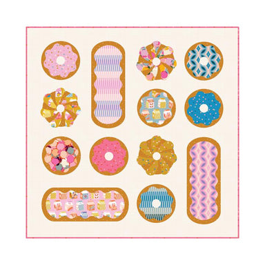 Pen + Paper Patterns - Donut Delight quilt pattern
