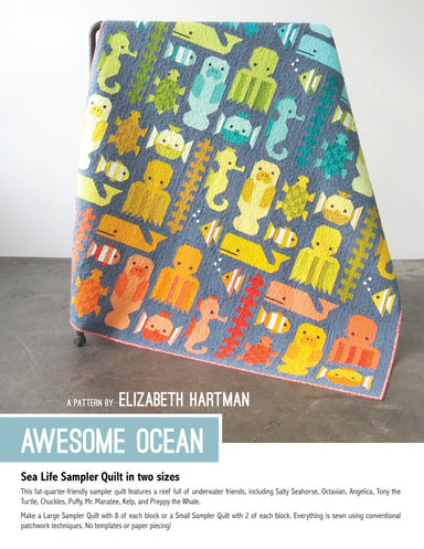 Awesome Ocean -pattern booklet
