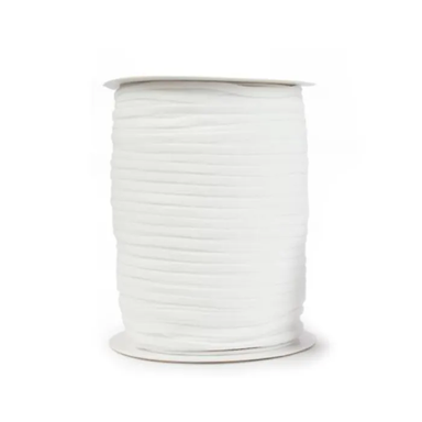 5mm Elastic - white