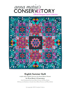 English Summer Quilt -PDF pattern