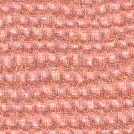 Essex yarn dyed metallic linen - Dusty Rose
