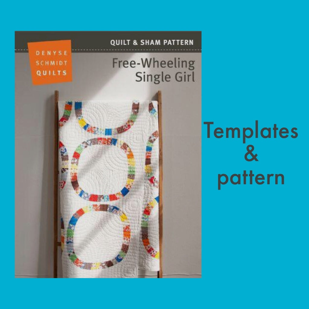 Free-wheeling Single Girl - Pattern + template combo