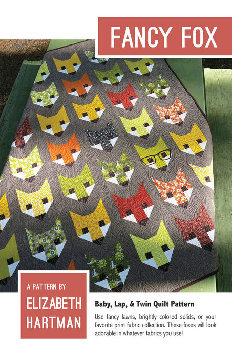 Elizabeth Hartman - Fancy Fox - Quilt Pattern